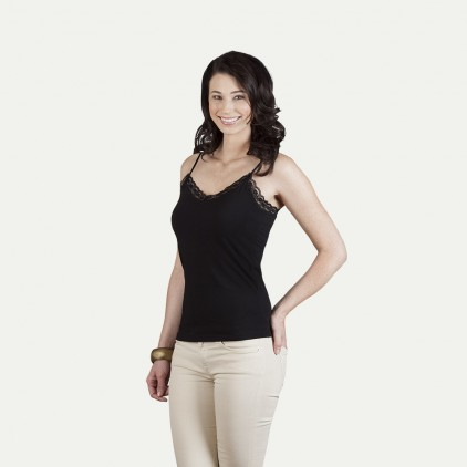 Spaghettiträger Lace Top Damen Sale