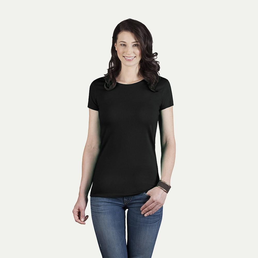 100 biobaumwolle damen t shirt von promodoro. Black Bedroom Furniture Sets. Home Design Ideas