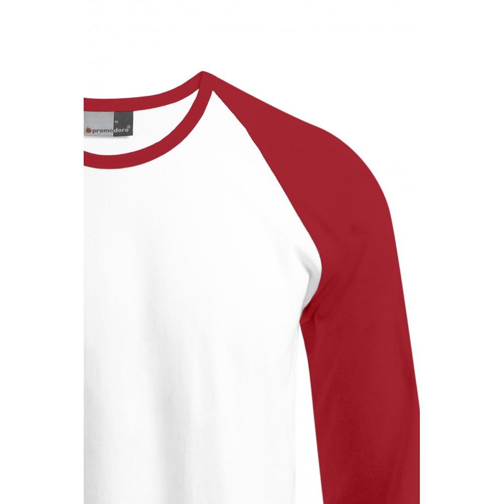 T Homme Manches Baseball Raglan Longues Shirt sdQBtrxCh