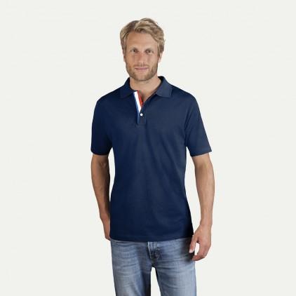 Fanshirt Frankreich Superior Poloshirt Herren