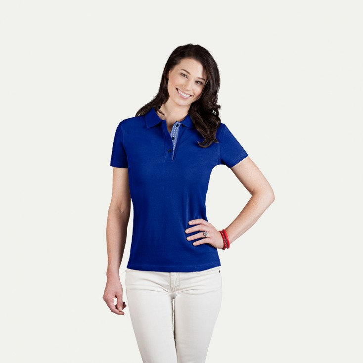 "Superior Poloshirt ""Graphic"" 505AB Damen"