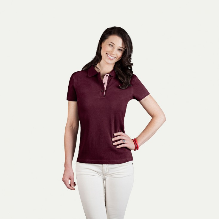 "Superior Poloshirt ""Graphic"" 505CP Damen"