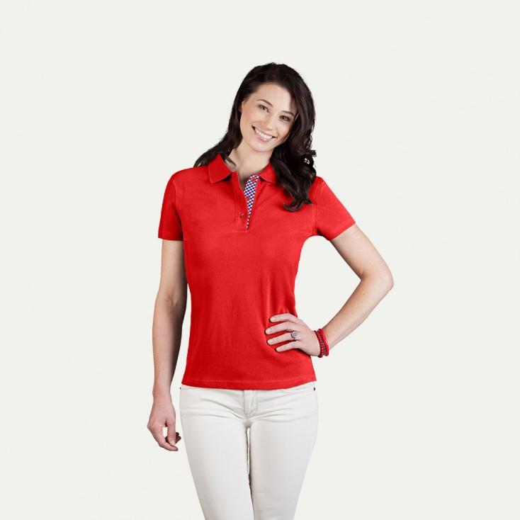 "Superior Poloshirt ""Graphic"" 506VB Damen"