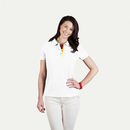 Fanshirt Deutschland Superior Poloshirt Damen