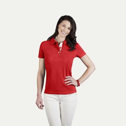 Fanshirt Österreich Poloshirt Plus Damen