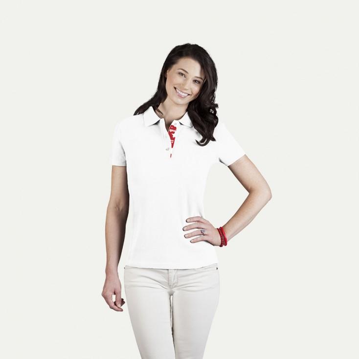 Fanshirt England Superior Poloshirt Damen
