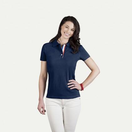 Fanshirt Frankreich Superior Poloshirt Damen