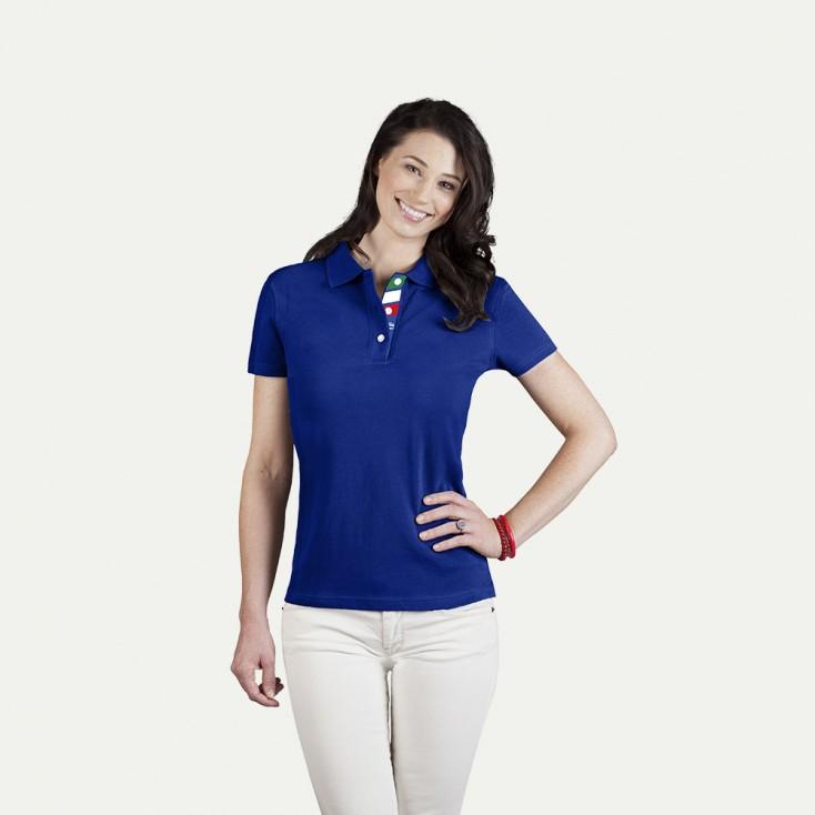 Fanshirt Italien Superior Poloshirt Damen