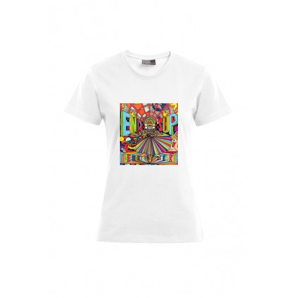 End zup - Artiste : T. Baudouin - T-shirt Premium femme
