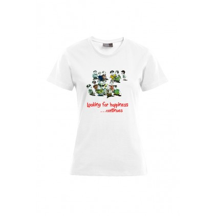 Looking for happiness - Artiste : Mutaz - T-shirt Premium femme