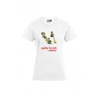 Looking for truth - Artiste : Mutaz - T-shirt Premium femme