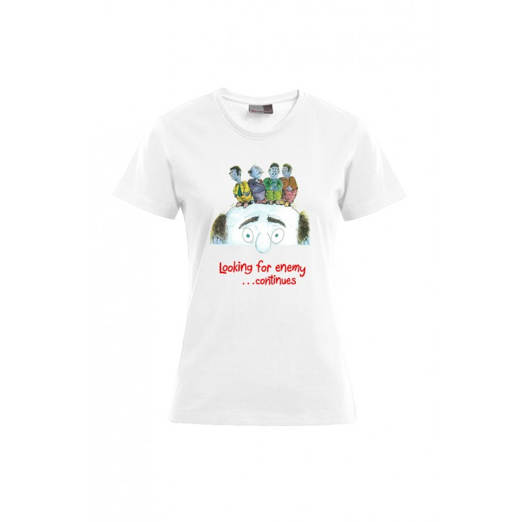 Looking for the enemy - Artiste : Mutaz - T-shirt Premium femme