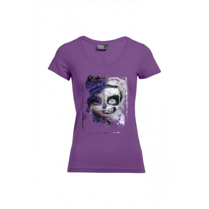 Recto verso - Artiste : A. Grember - T-shirt Slim Fit femme col V