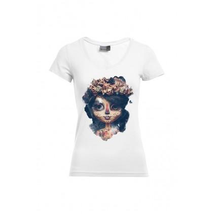 Thunder - Artiste : A. Grember - T-shirt Slim Fit femme col V