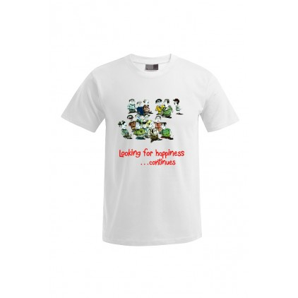 Looking for happiness - Artiste : Mutaz - T-shirt Premium homme