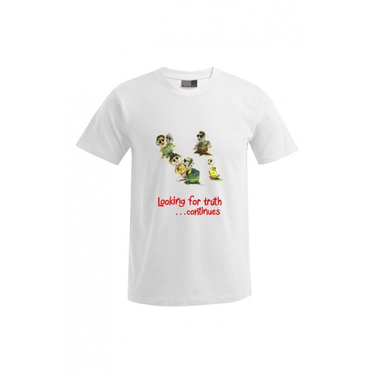 Looking for truth - Artiste : Mutaz - T-shirt Premium homme