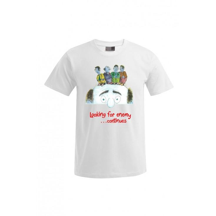 Looking for the enemy - Artiste : Mutaz - T-shirt Premium homme