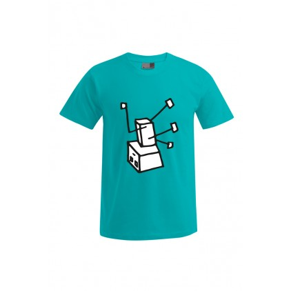 """Print """"Breakdance Robot""""- Herren Premium T-Shirt"""