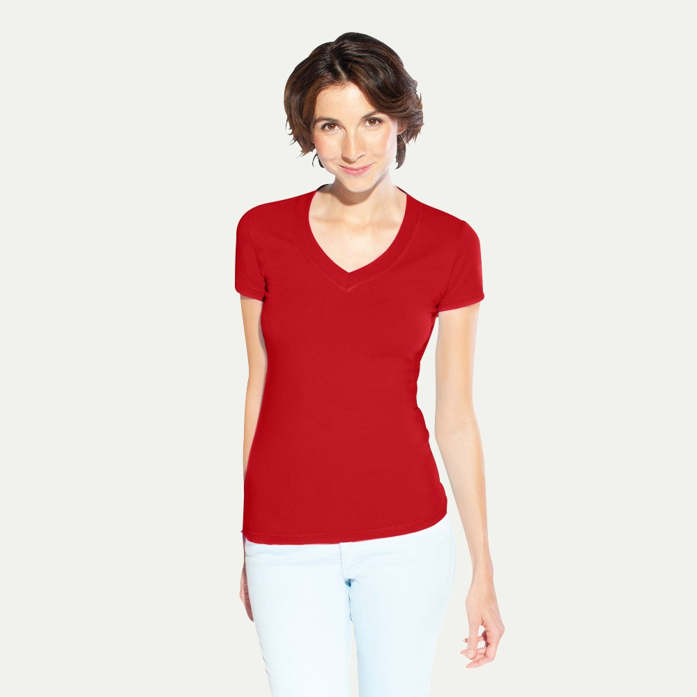 Women s v neck t shirt for Thick v neck t shirts