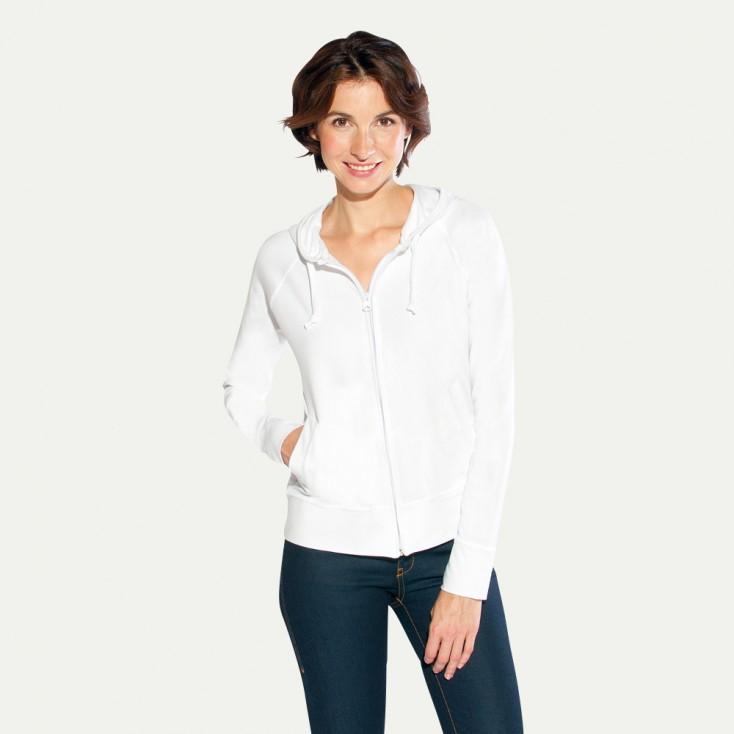 Veste sweat capuche zippée bien-être Femmes promotion