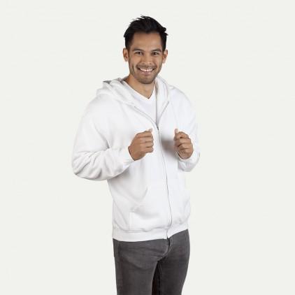 Veste sweat capuche zippée coton Hommes promotion