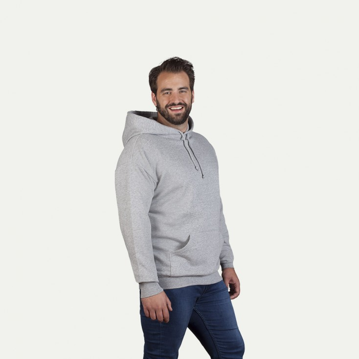 Sweat capuche basic 80-20 grande taille Hommes