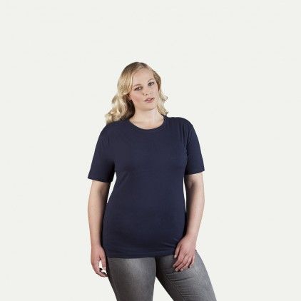 Premium T-Shirt Plus Size Damen