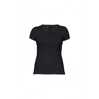 Ripp T-Shirt Plus Size Damen