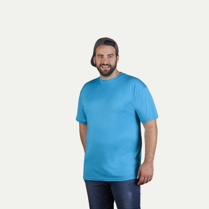 UV-Performance T-Shirt Plus Size Herren