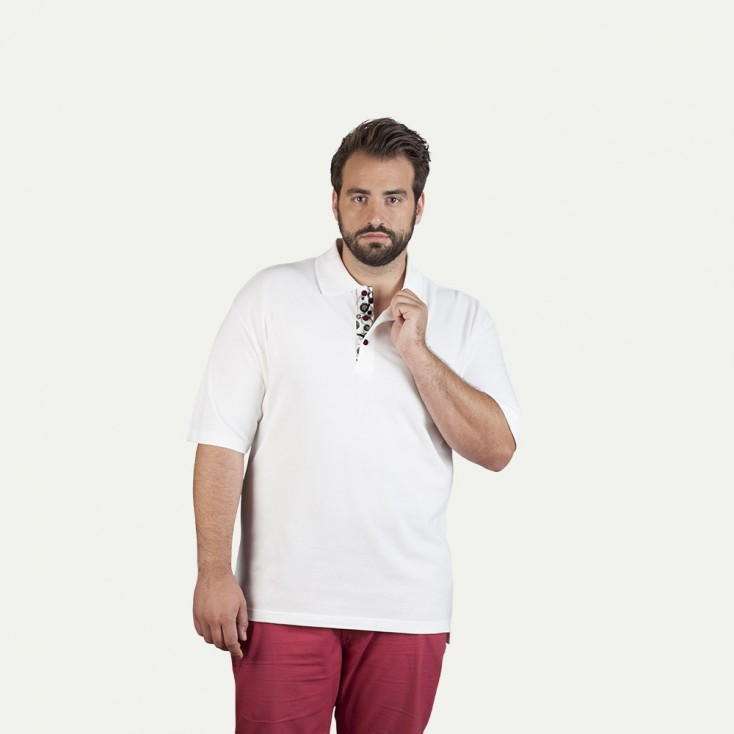 "Superior Poloshirt ""Graphic"" 501 Plus Size Herren"