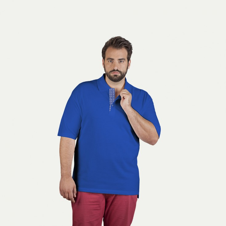 "Superior Poloshirt ""Graphic"" 505AB Plus Size Herren"