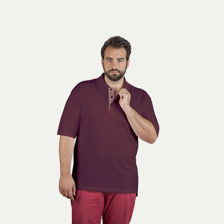 "Superior Poloshirt ""Graphic"" 506CP Plus Size Herren"