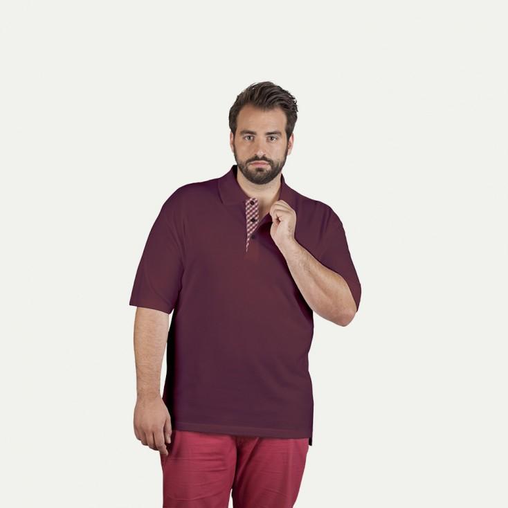 "Superior Poloshirt ""Graphic"" 506CP Plus Size Herren"