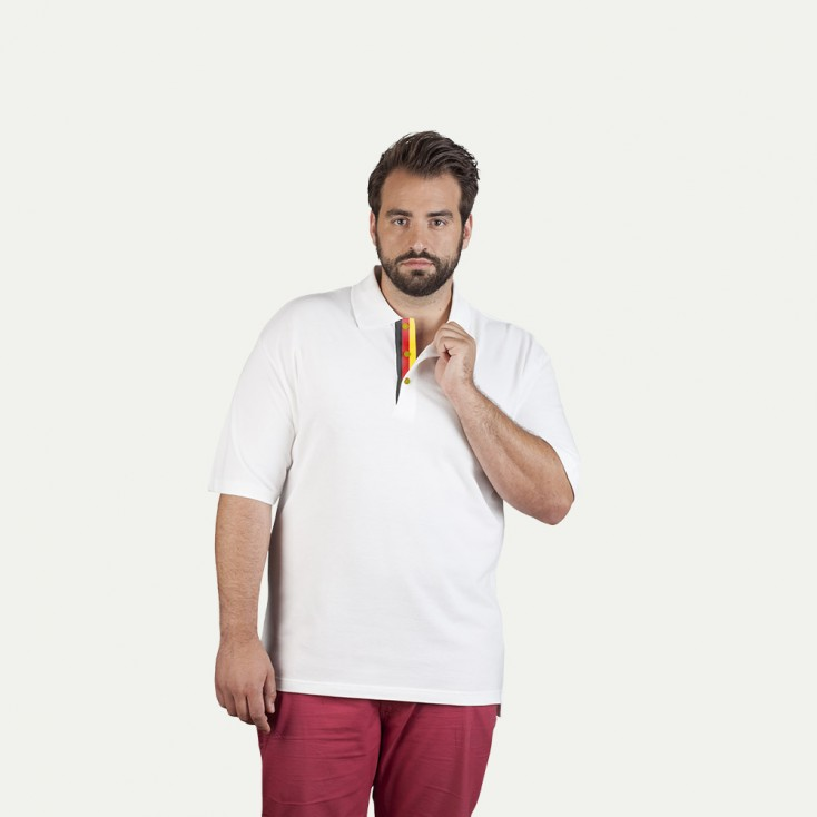 Polo homme Fan Allemagne grande taille