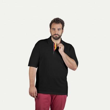 Fanshirt Deutschland Superior Poloshirt Plus Size Herren