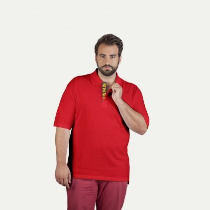 Polo supérieur Fan Espagne grande taille Hommes