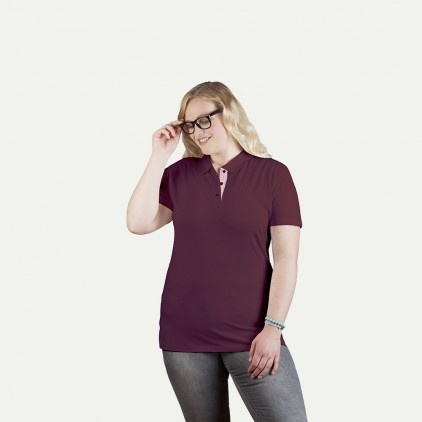 "Superior Poloshirt ""Graphic"" 505CP Plus Size Damen"
