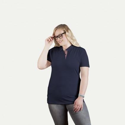 Polo femme Graphic 506CP grande taille