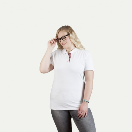 "Superior Poloshirt ""Graphic"" 506CP Plus Size Damen"