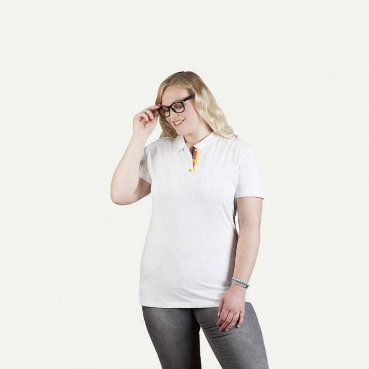Fanshirt Deutschland Superior Poloshirt Plus Size Damen