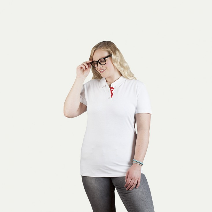 Superior Polo shirt Fan England Plus Size Women
