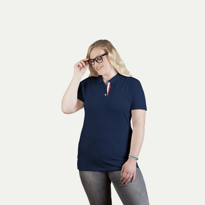 Superior Polo shirt Fan France Plus Size Women
