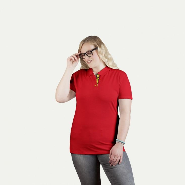 Fanshirt Spanien Superior Poloshirt Plus Size Damen