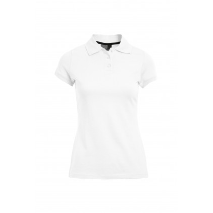 Single-Jersey Poloshirt Plus Size Damen