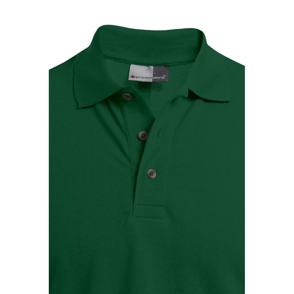 Polo Premium grande taille Hommes, XXXL, vert forêt