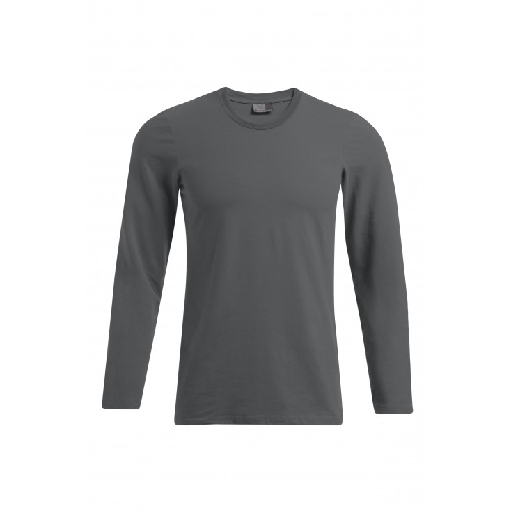 Slim Fit Longsleeve Plus Size Men