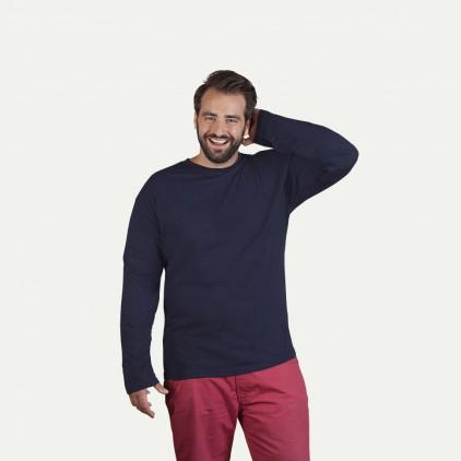 Premium Langarmshirt Plus Size Herren