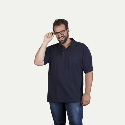 Polo homme poche poitrine grande taille