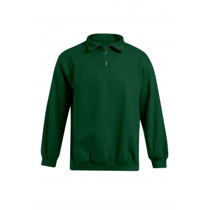 Troyer Sweatshirt Plus Size Herren