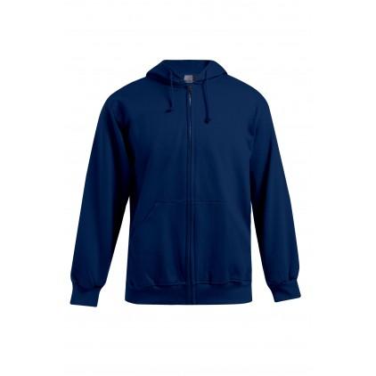 Veste sweat capuche zippée 80-20 grande taille Hommes